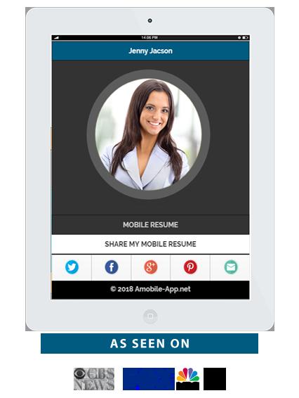 your resume app